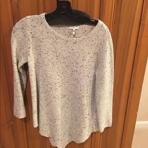 Joie wool blend sweater asymmetrical